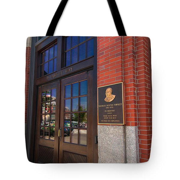 Thomas Austin Yawkey Tote Bag by Paul Mangold