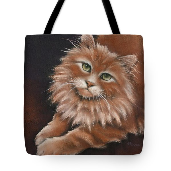 Tote Bag featuring the drawing Thomas by Cynthia House