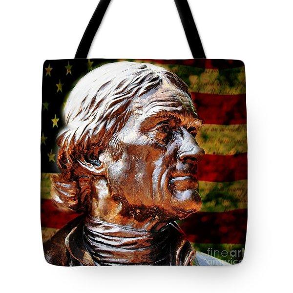 Thomas Jefferson Statue  Tote Bag