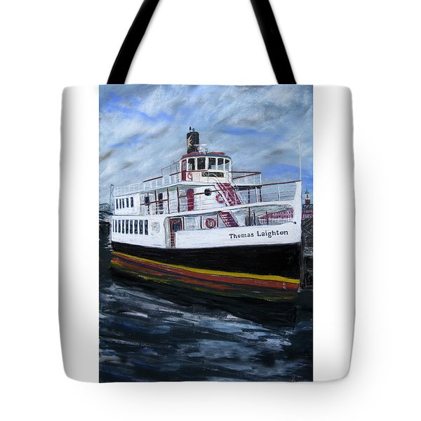 Thomas Laighton Tote Bag