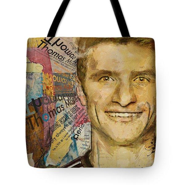 Thomas Muller Tote Bag
