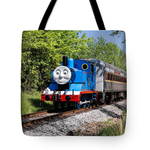 Thomas Visits The Cvnp Tote Bag