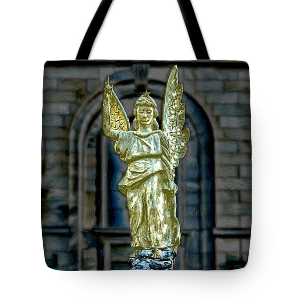 Thomas Wolfe Memorial Angel Tote Bag