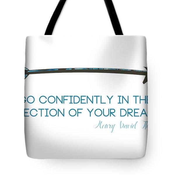 Thoreau Arrow Tote Bag