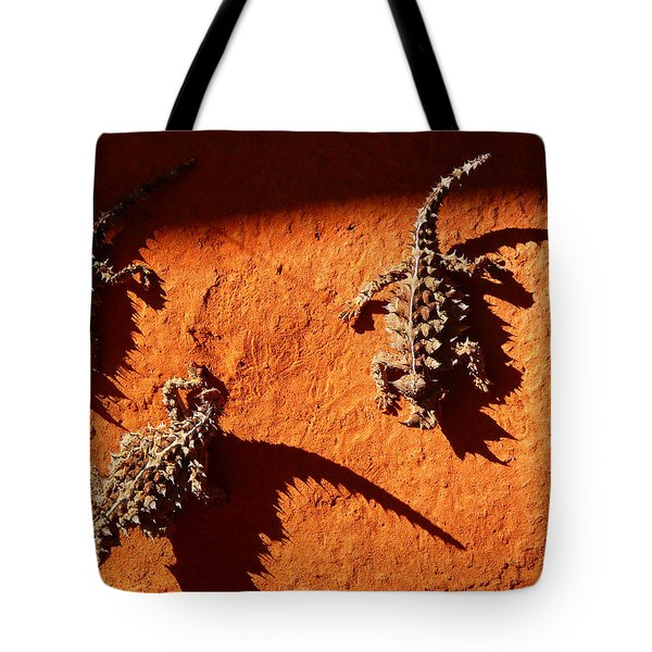 Thorny Devils Tote Bag by Evelyn Tambour