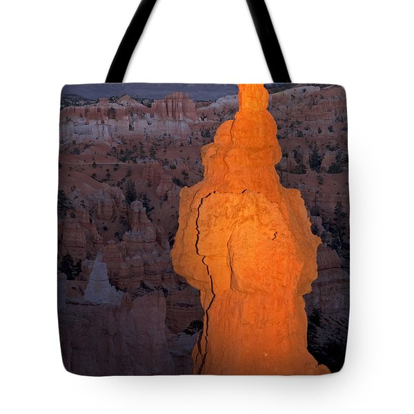 Thors Hammer Sunset Point Bryce Canyon National Park Tote Bag