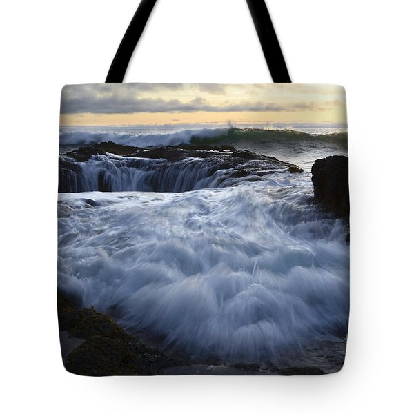 Thors Well 2 Tote Bag by Bob Christopher