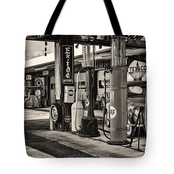 Those Were The Days Tote Bag by Heather Applegate