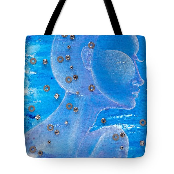 Thought Tote Bag by Sheridan Furrer