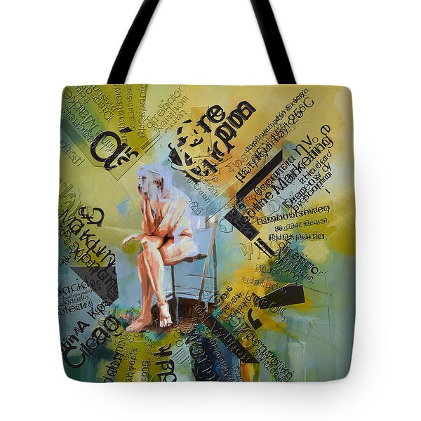 Thoughts Tote Bag by Corporate Art Task Force