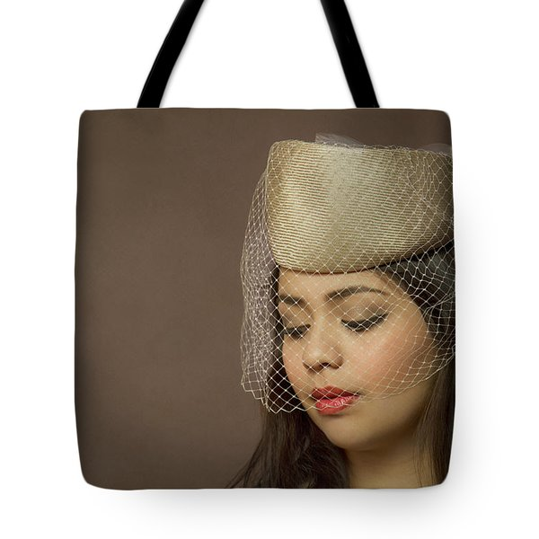 Thoughts Of Mystery Tote Bag by Evelina Kremsdorf