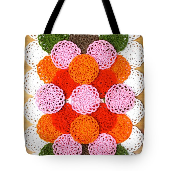 Thread On Canvas Tote Bag by Lorna Maza