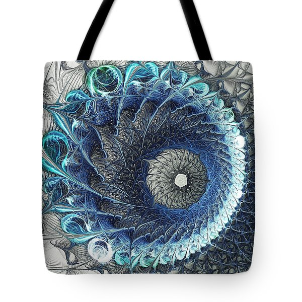 Threadwork Tote Bag by Anastasiya Malakhova
