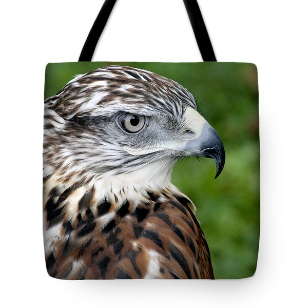 The Threat Of A Predator Hawk Tote Bag