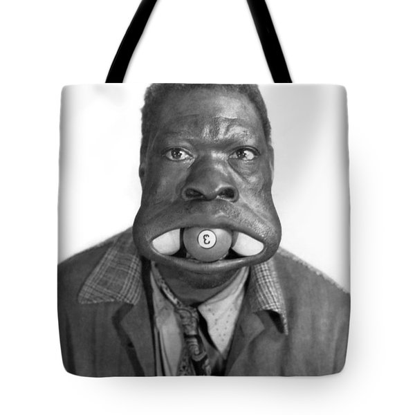 Three Ball Charlie Tote Bag by Underwood Archives
