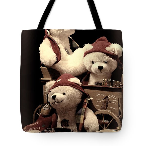 Three Bears Creative Tote Bag