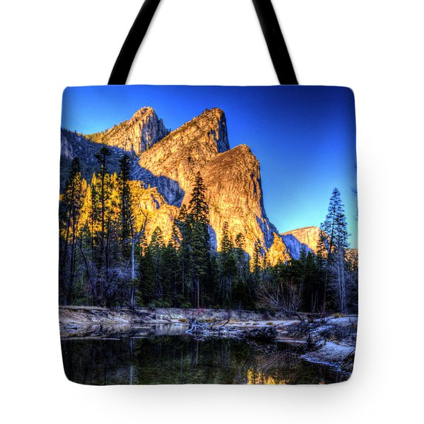 Three Brothers. Tote Bag by Bill Gallagher