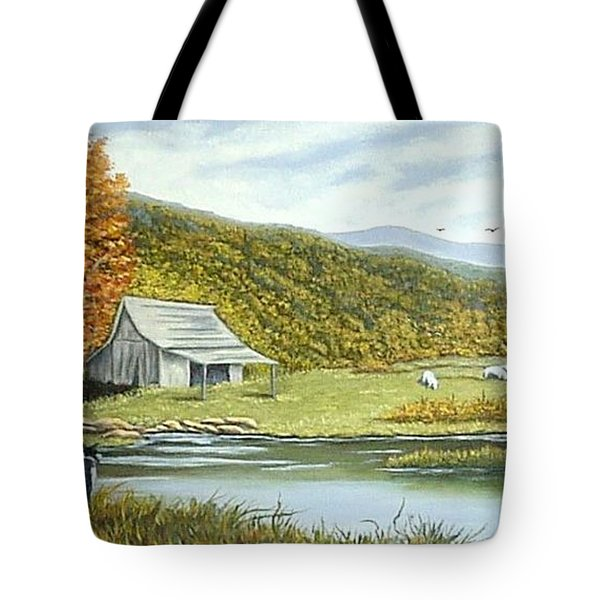 Three Companions Tote Bag