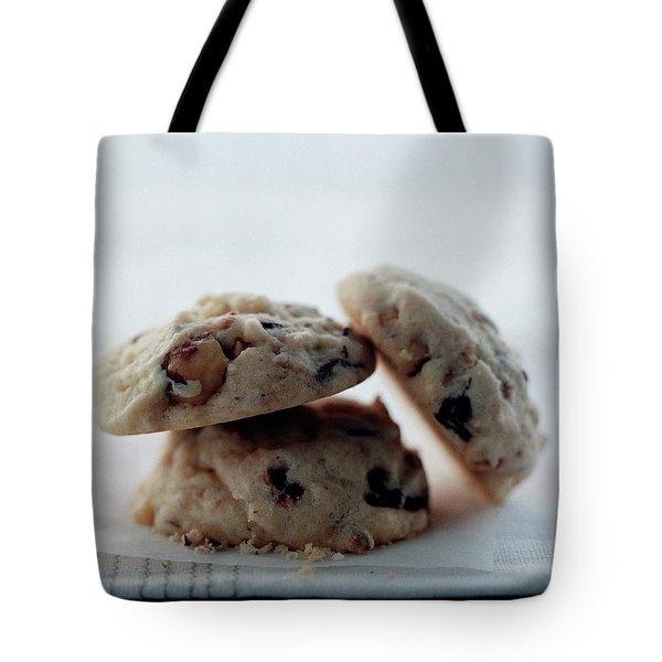 Three Cookies Tote Bag