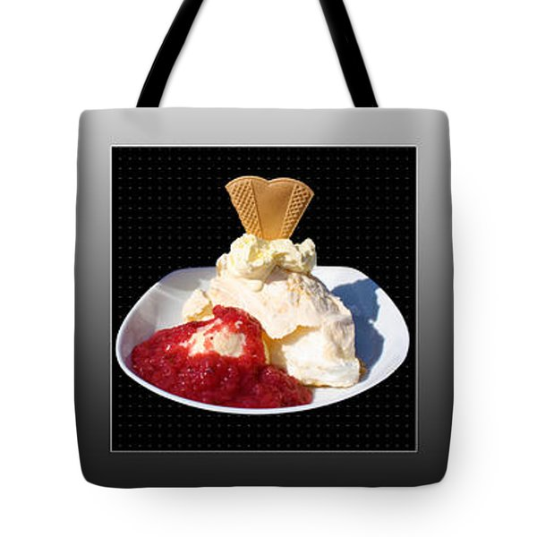 Tote Bag featuring the photograph Three Course Meal by Terri Waters