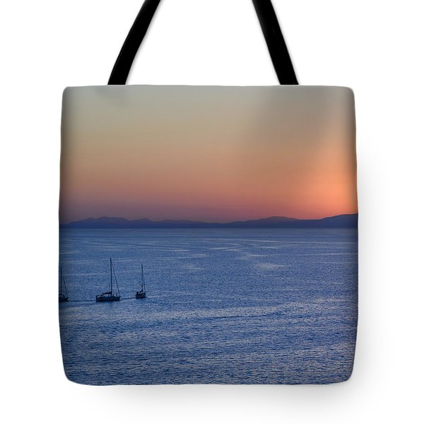 Tote Bag featuring the photograph Three Dreams by Steven Sparks
