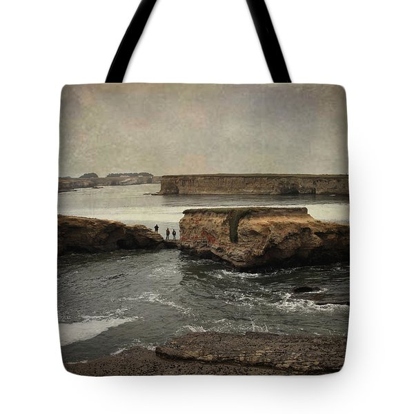 Three Fishermen Tote Bag by Laurie Search