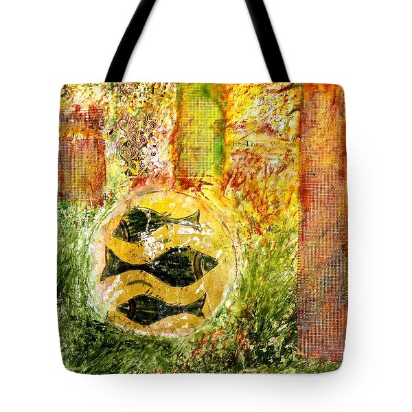 Three Fishes Tote Bag