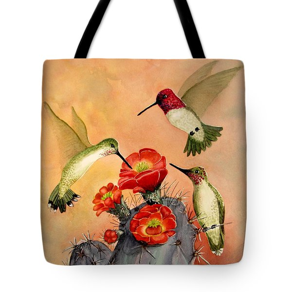 Three For Breakfast Tote Bag