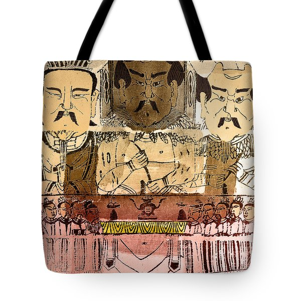 Three Gods, Founders Of Chinese Medicine Tote Bag