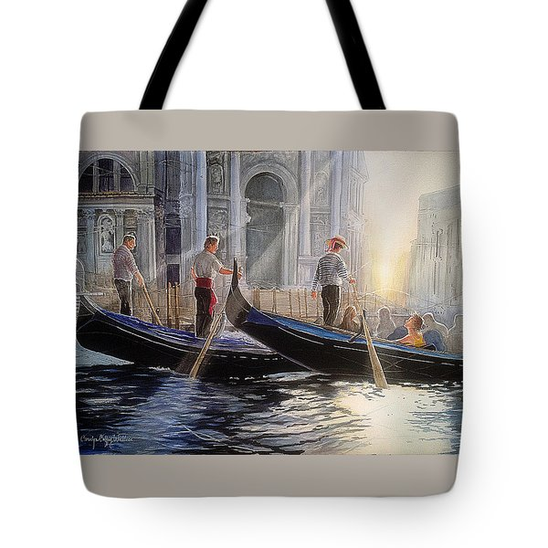 Three Gondoliers Tote Bag