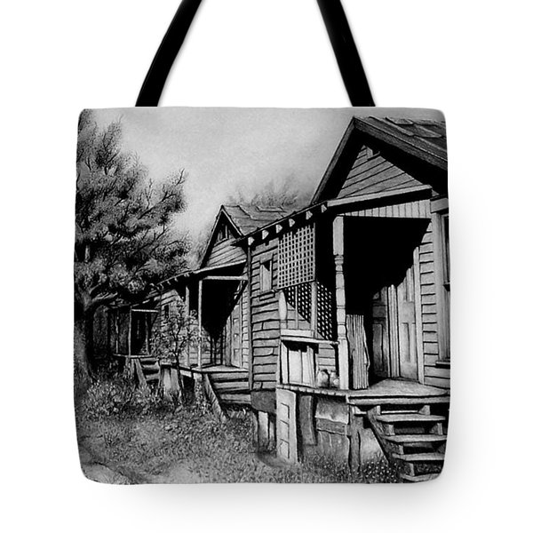 Three Graces Black And White Tote Bag