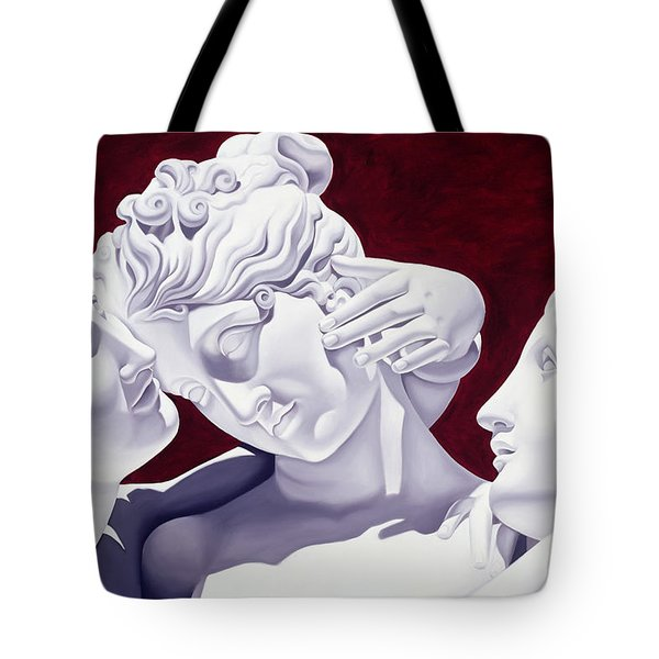 Three Graces Tote Bag by Catherine Abel