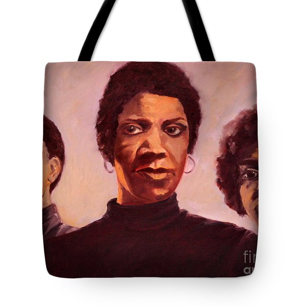 Three Graces One Tote Bag by Carrie Joy Byrnes