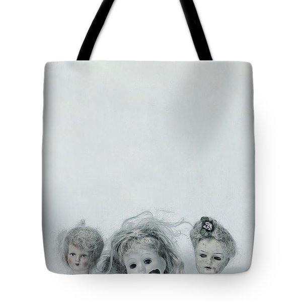 Three Heads Tote Bag by Joana Kruse