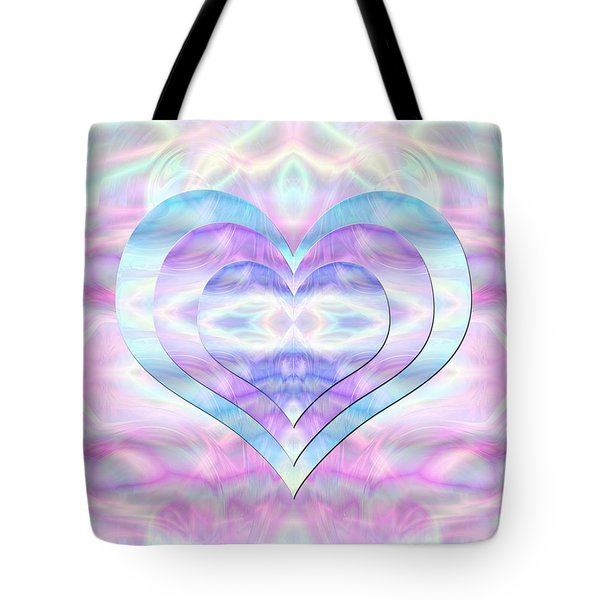 Three Hearts As One Tote Bag