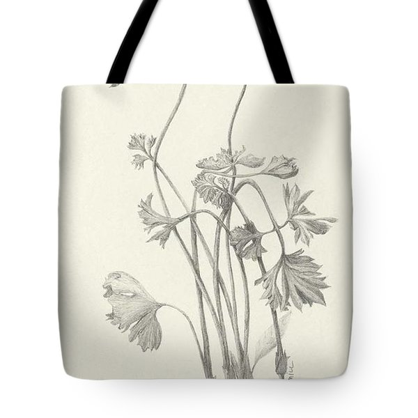 Three Herbs - Parsley Tote Bag