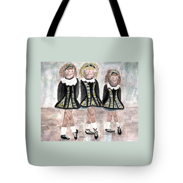 Three Irish Lasses Tote Bag