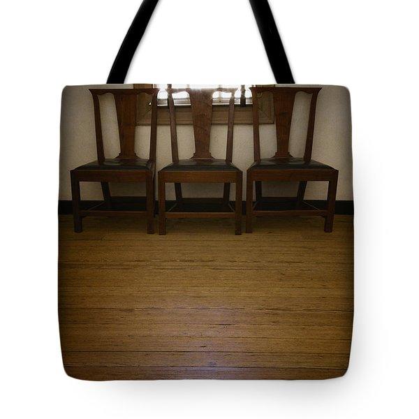 Three Tote Bag by Margie Hurwich