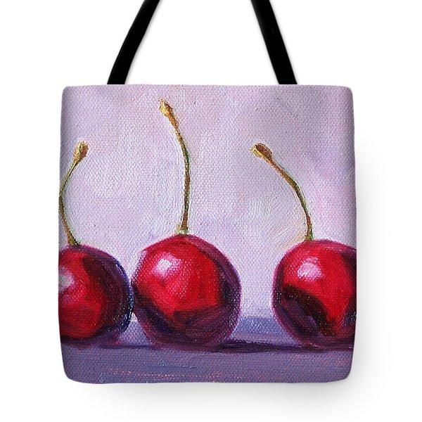 Three Tote Bag by Nancy Merkle