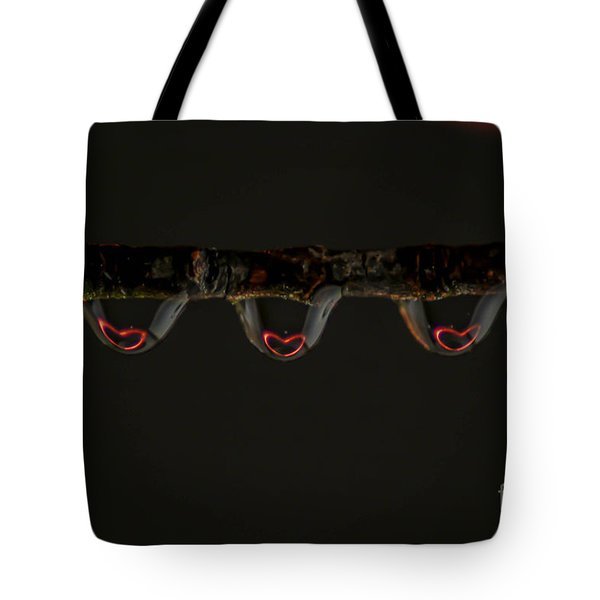 Three Of Hearts Tote Bag by Patrick Shupert