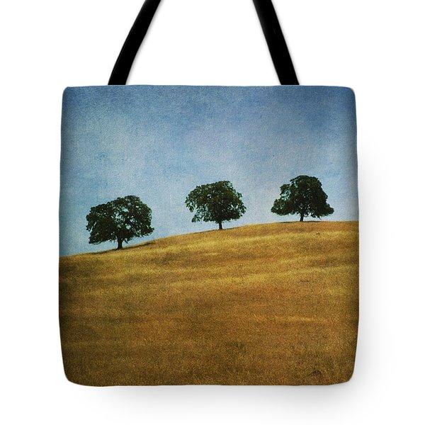 Three On A Hill Tote Bag