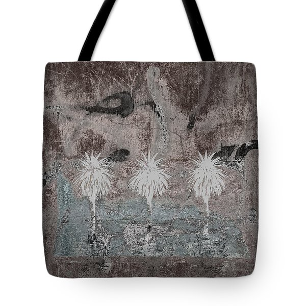 Three Palms Oasis Tote Bag