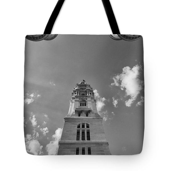 Three Points Of Justice Tote Bag