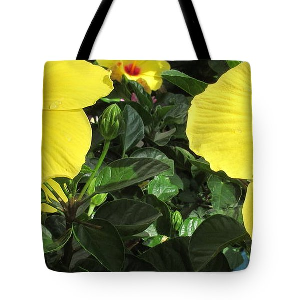 Three Red Deep Throats Tote Bag