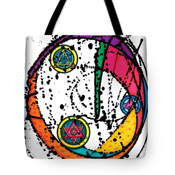 Three Seals Tote Bag