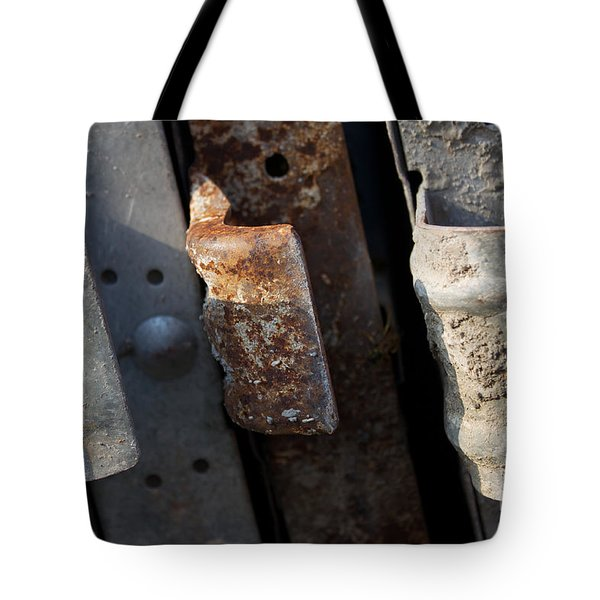 Three Shades Of Rust Tote Bag