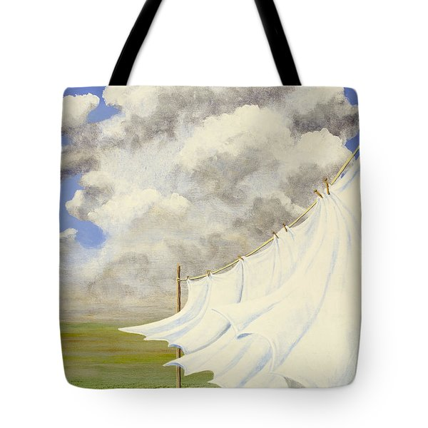 Three Sheets To The Wind Tote Bag
