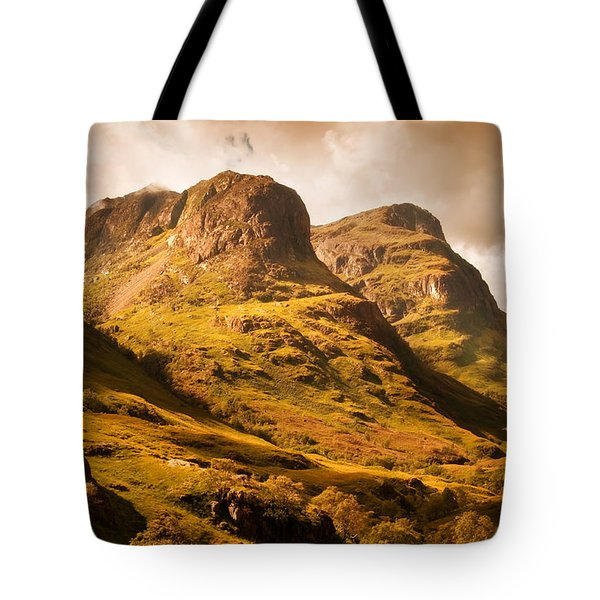 Three Sisters. Glencoe. Scotland Tote Bag