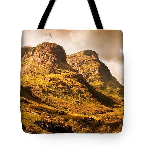 Three Sisters. Glencoe. Scotland Tote Bag