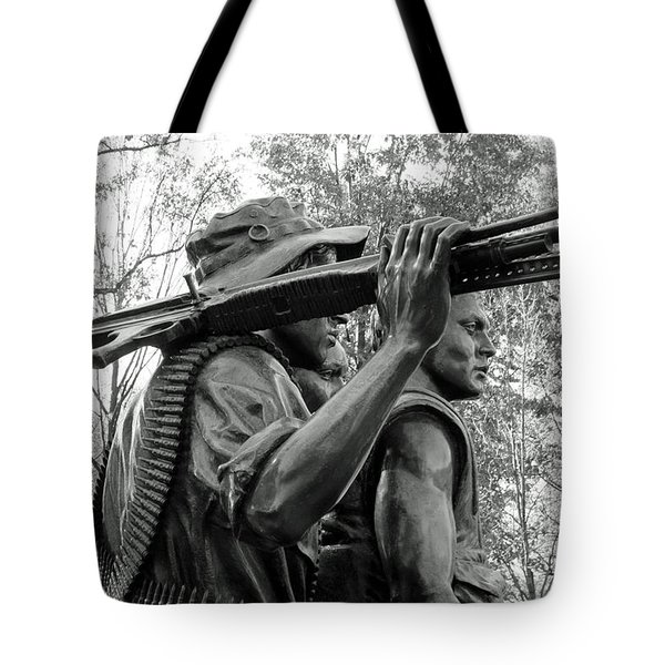 Three Soldiers In Vietnam Tote Bag